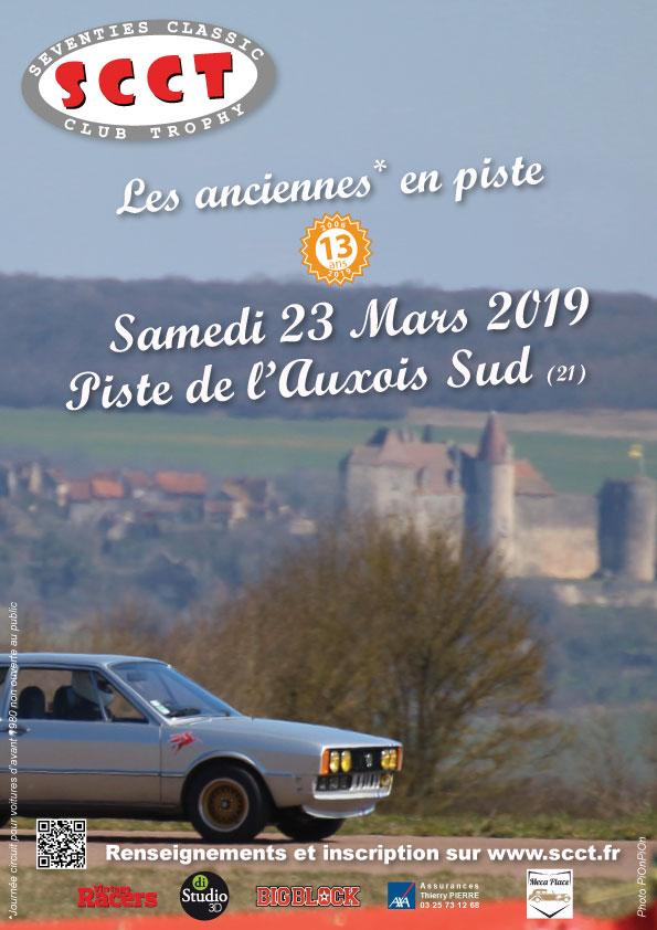 23 mars 2019 Roulage piste de l'Auxois Sud