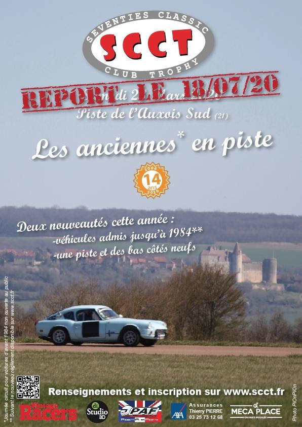 Journée SCCT: Piste de l'Auxois Sud - reportée au 18 juillet 2020