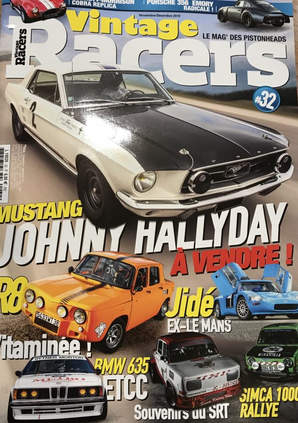 Encore un bel article dans Vintage Racers